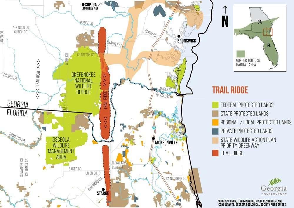 GA Conservancy Map